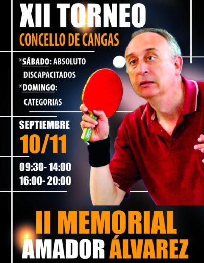 Torneo de Tenis de Mesa Homenaje Amador Álvarez García en 2016